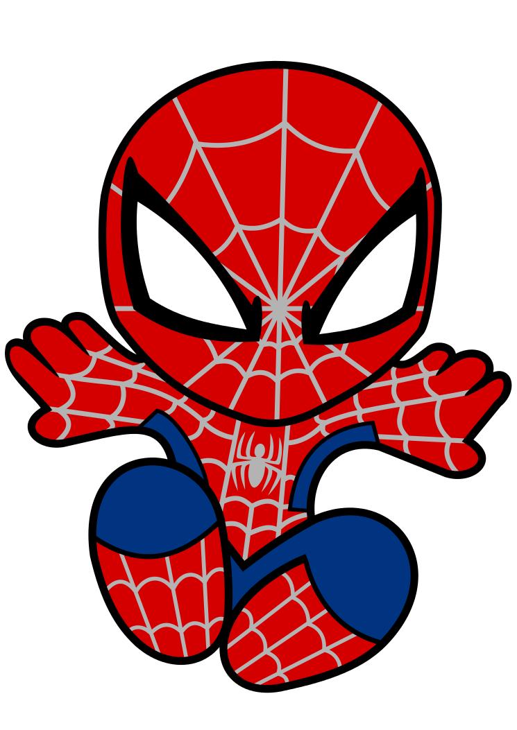 Krafty Nook Spiderman Fan Art SVG Superheroes