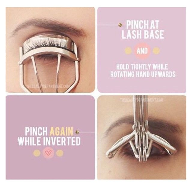 Curl your lash in a different way! | Makeup tips for ...