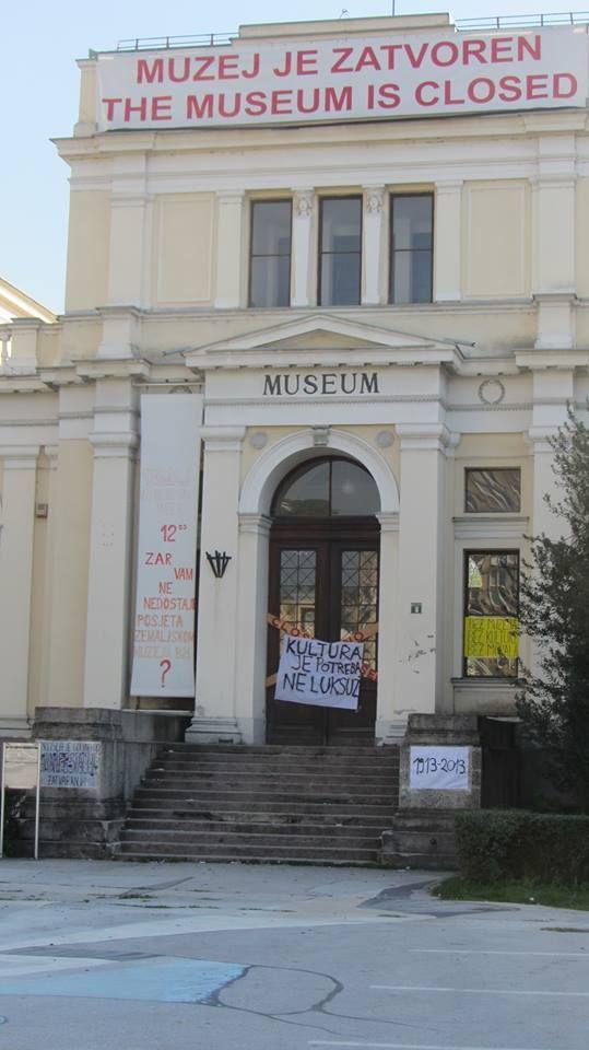 museum is closed / sarajevo