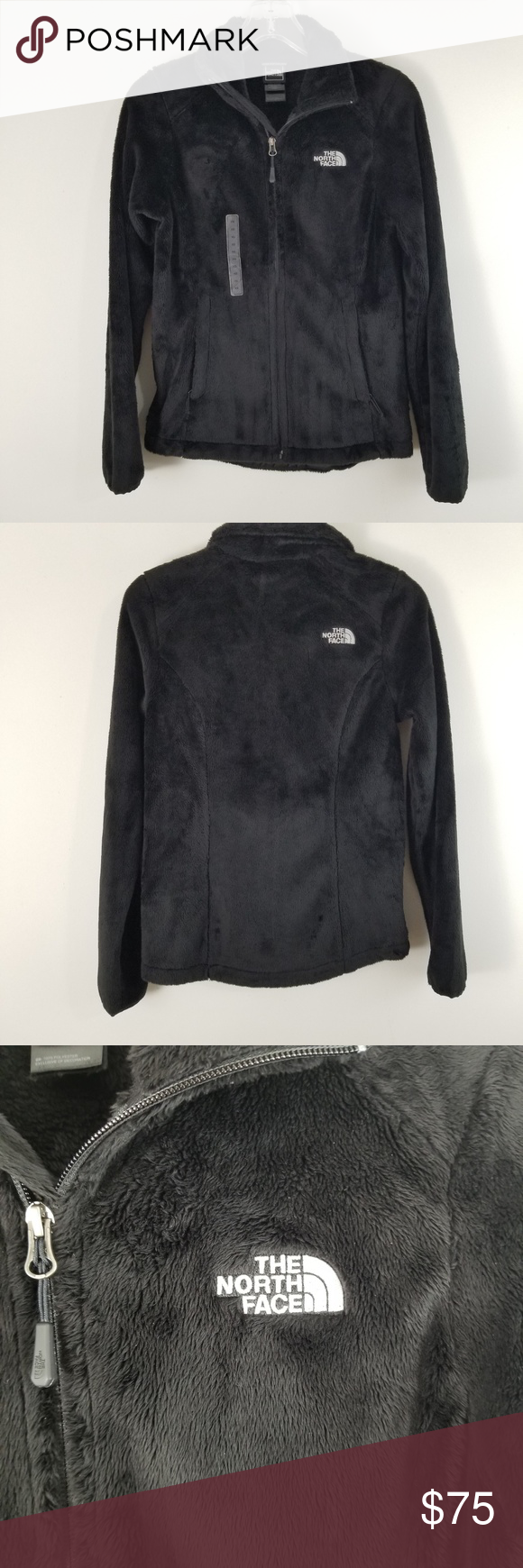 The North Face New Osito Jacket Womens Xs Jackets For Women Blazers For Women Jackets [ 1740 x 580 Pixel ]