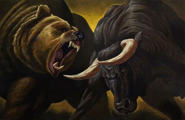 Wall Street-Bull Market is GOOD.Bear Market is BAD. | De ...