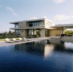 fascinating beach houses design : small modern house modern beach