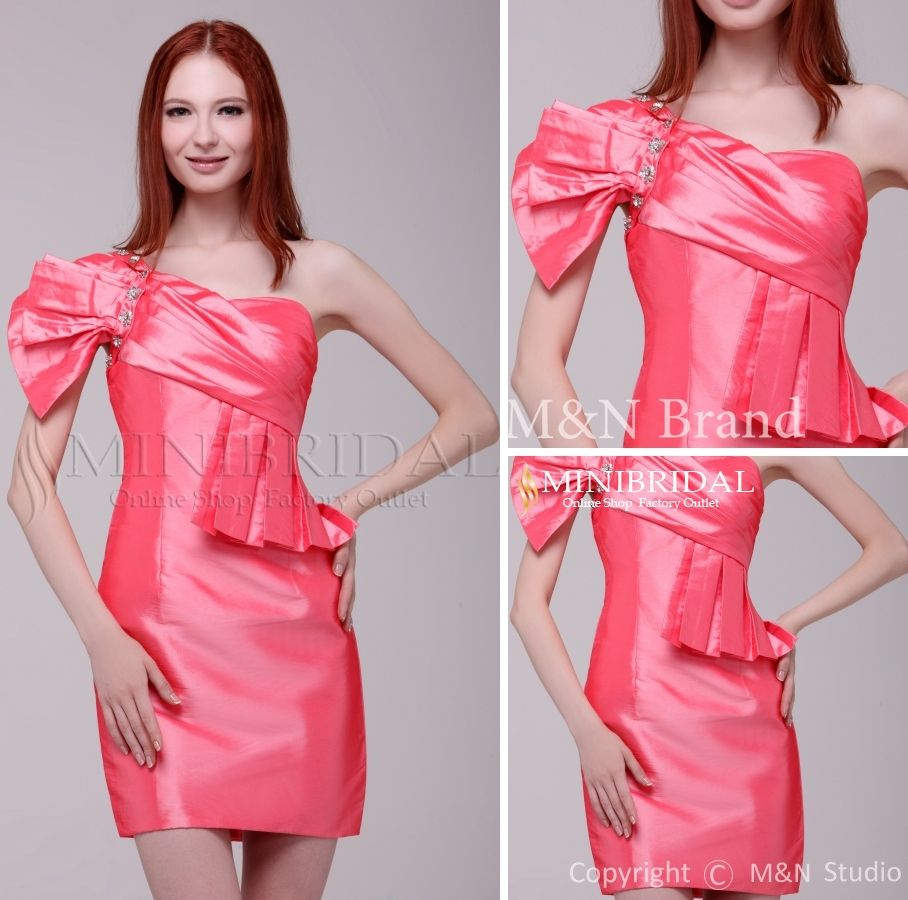 Look for dresses online hot beading bow watermelon no train
