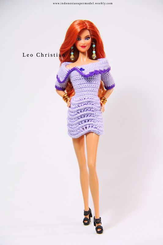 Kira Barbie in Crochet Dress | Barbie Dolls (Kira Facemold ...