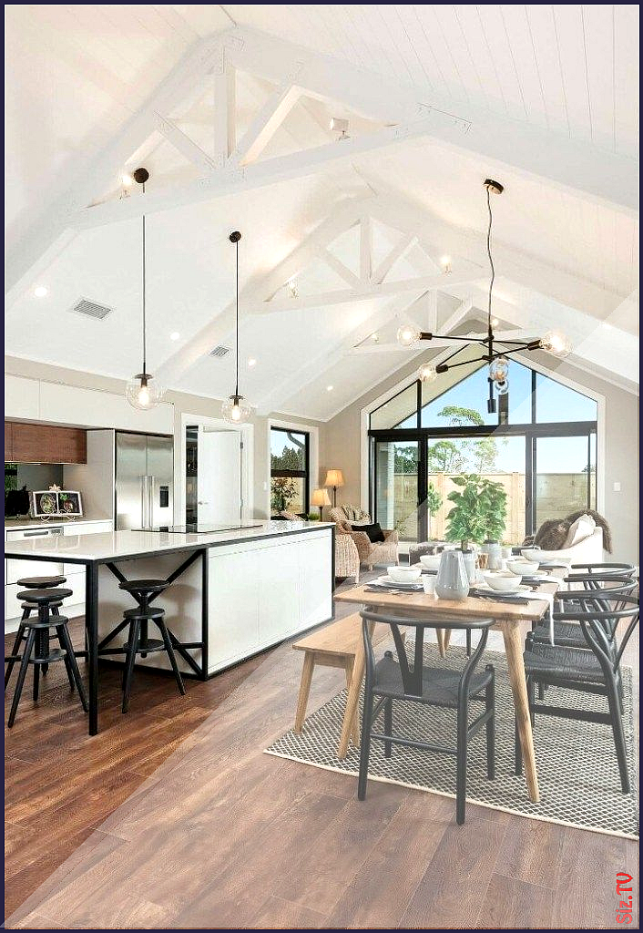 Vaulted ceilings are understood formally as well as ...