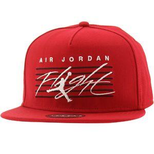 Jordan Flight Snapback Cap (red) 546451-695 -  29.99 Jordan Hats 37435a4ef16