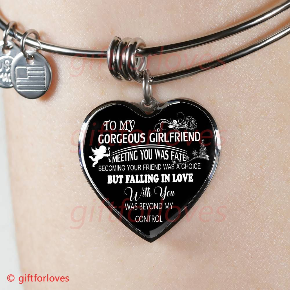 To My Girlfriend Gift Idea For Birthday Ideas Best Luxury Bangle