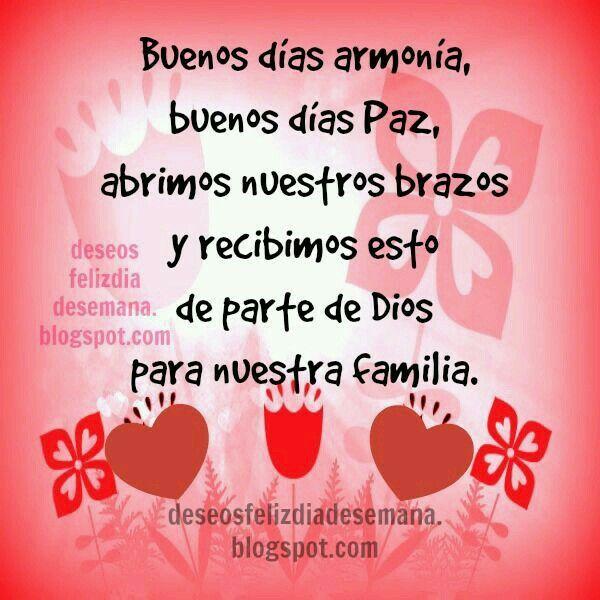 Buenos Días Familia Buenos Dias Familia Saludos De Buenos