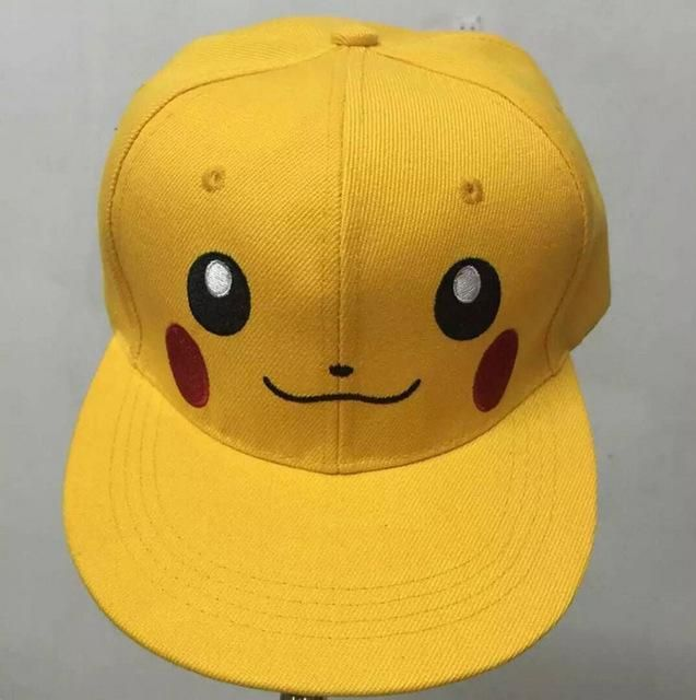 922532c50a535 Pokemon Go Cosplay Cap Adult Kids Bone Masculino Hip Hop Dad Pikachu Pocket Hat  Drake Baseball Ash Ketchum Cap Snapback Gorro
