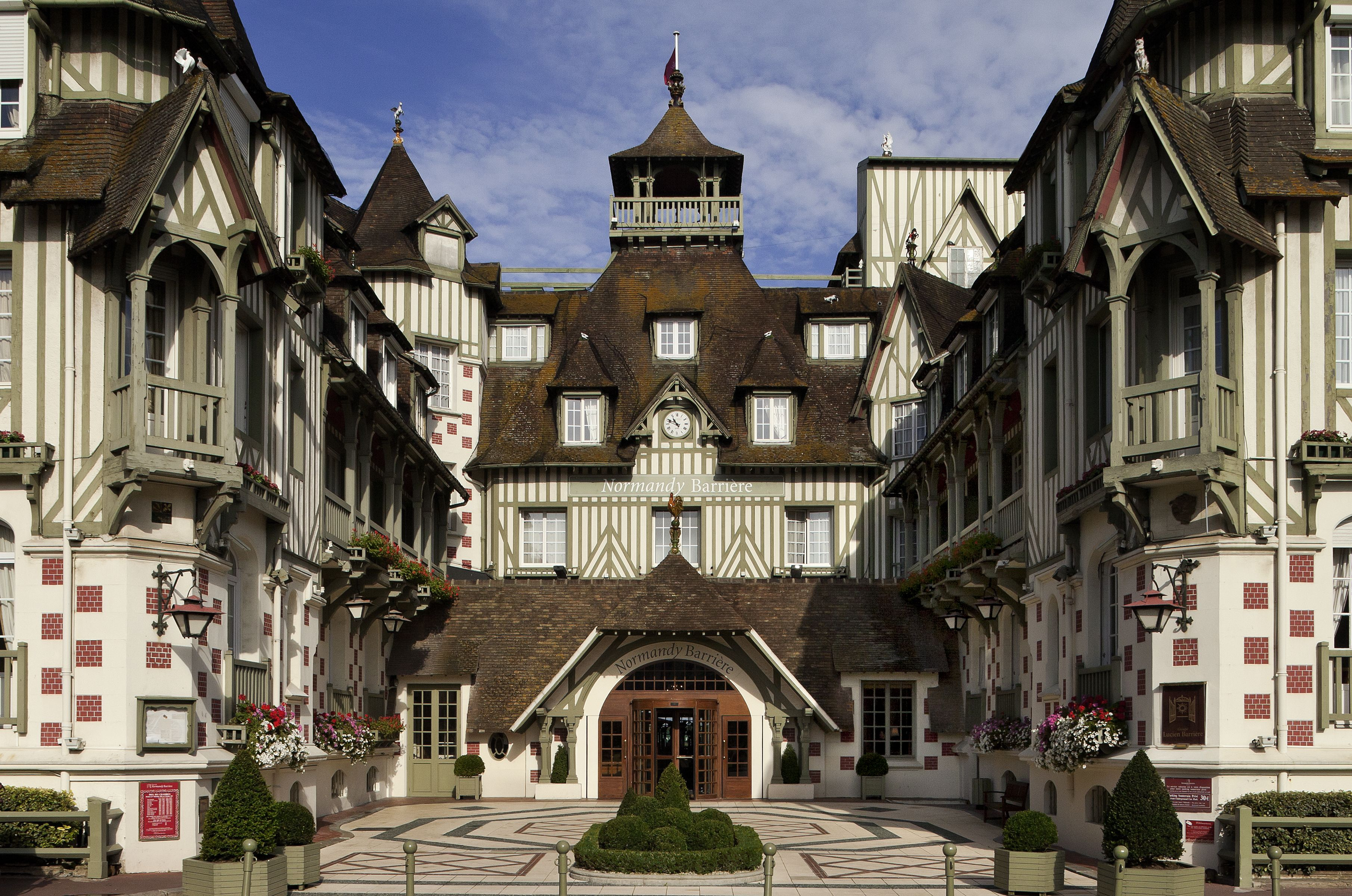 Heading to #France for a #FamilyFriendly #Vacation? Might we suggest the Normandy Barrière in #Deauville? #Kids #Travel