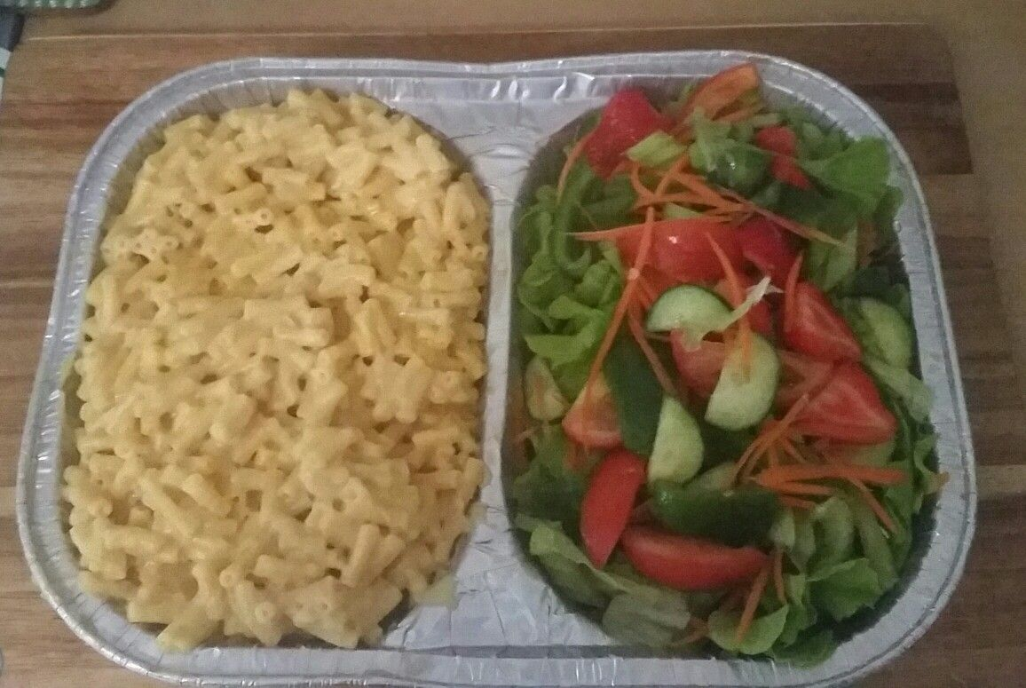 Cook with Barb: Homemade mac n cheese with garden salad | Cook with ...