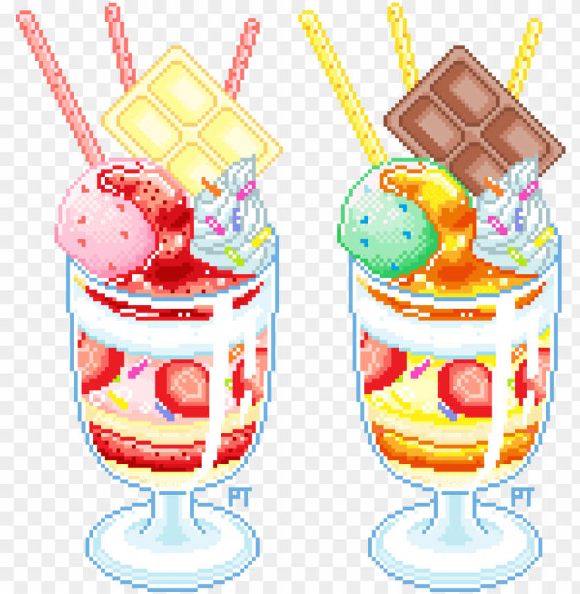 I Draw Pixel Stuff Kawaii Pixel Food Png Image With Transparent Background Png Free Png Images Pixel Art Food Anime Pixel Art Pixel Art