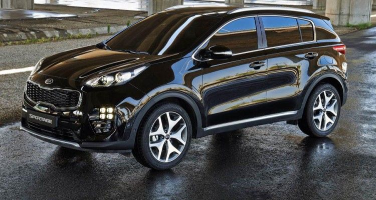 2016 Kia Sportage Previewed In Official Renderings Update Kia Sportage Sportage Kia