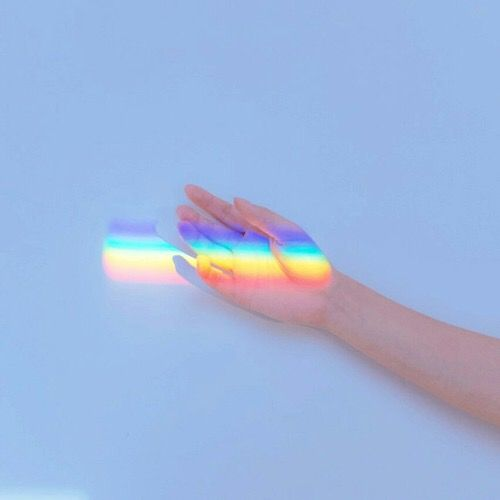 Pin By Micc K On Photos Feel Something Rainbow Aesthetic Light