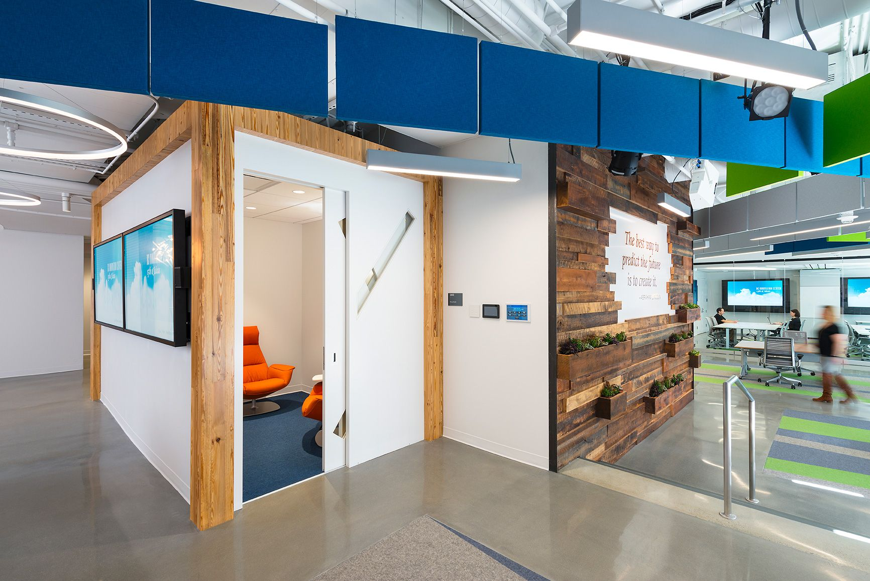 office centre video. Office Centre Video. Otj Architects Has Designed New Innovation Center Offices Of Management Consulting Company Video E