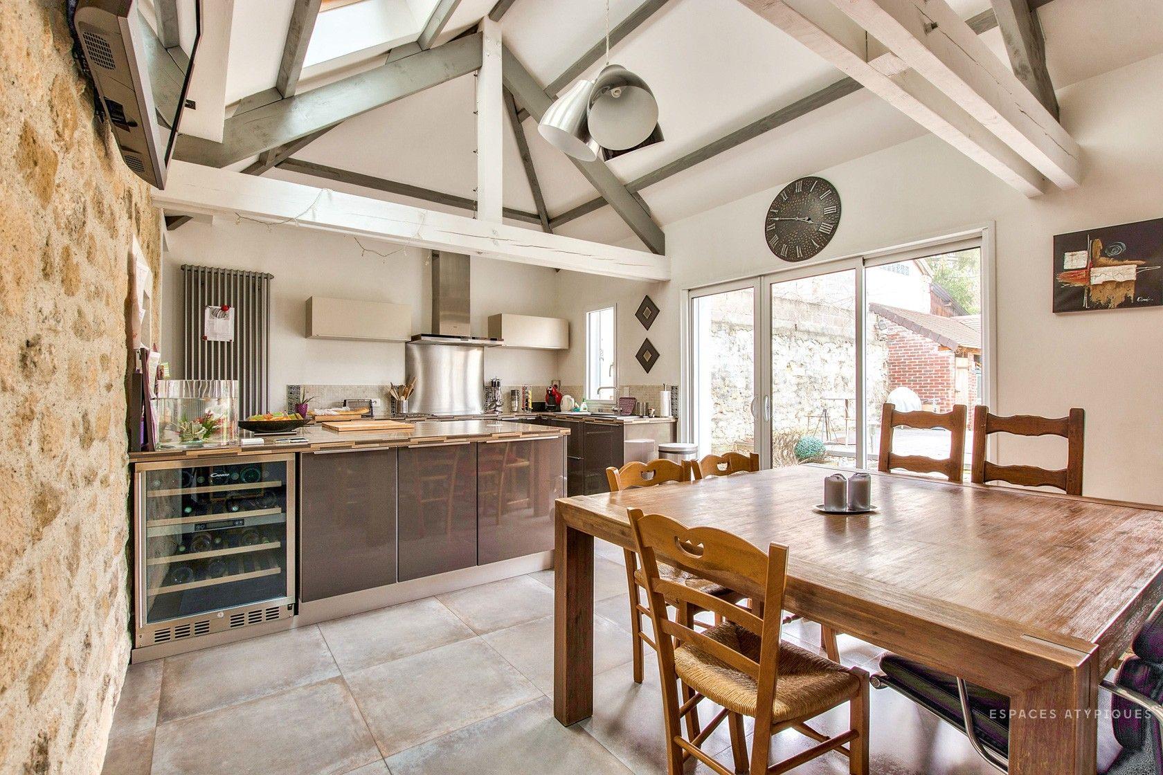 Presles : Maison de village avec son extension contemporaine ...