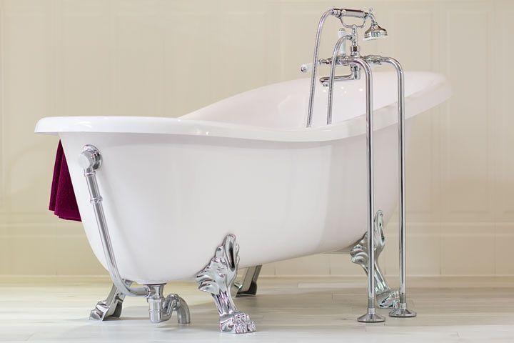 Nostalgie im Badezimmer! #badezimmer #baddesign #badewanne ...