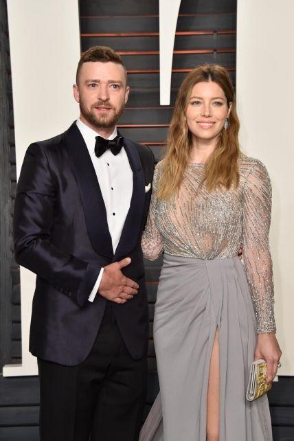 Justin Timberlake junto a Jessica Bie