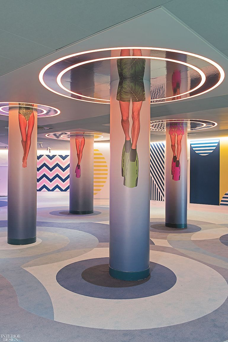 Color Reigns Supreme at Teresa Sapey's Tunnel Lounge for the Nhow Marseille - Hotel and Hospitality Design -  Color Reigns Supreme at Teresa Sapey's Tunnel Lounge for the Nhow Marseille  - #color #Design #Hospitality #Hotel #Lounge #magazinedesign #Marseille #Nhow #Reigns #Sapeys #Supreme #Teresa #Tunnel