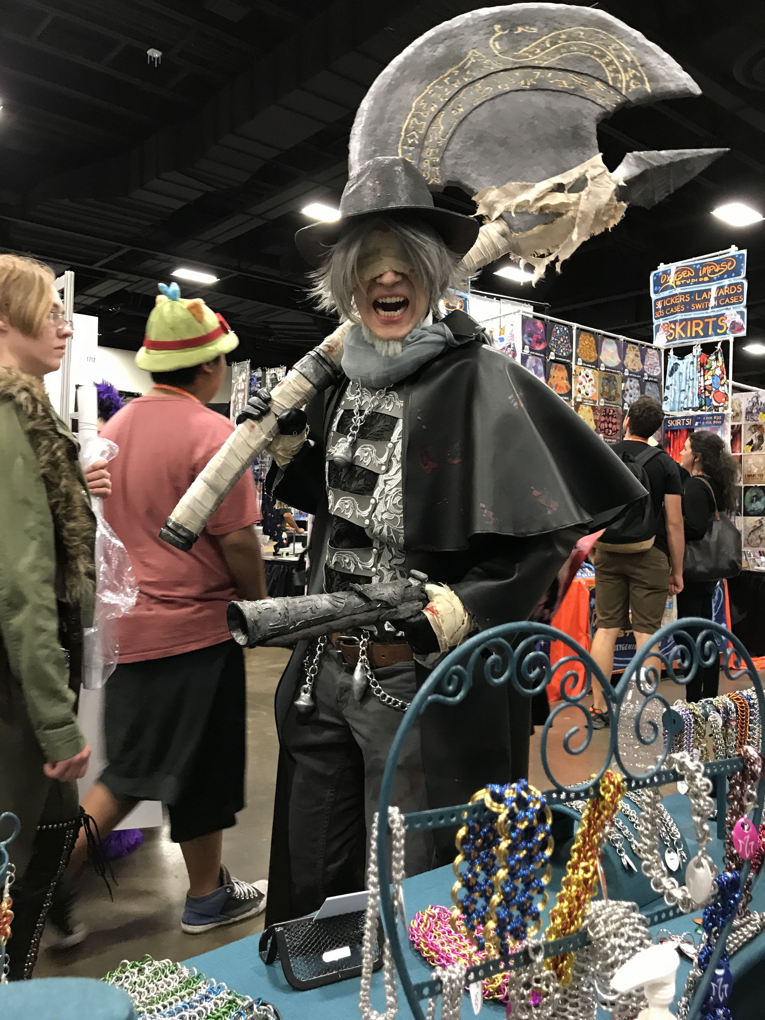 From The Game Bloodborne A Kon Anime Conventions Samurai Gear