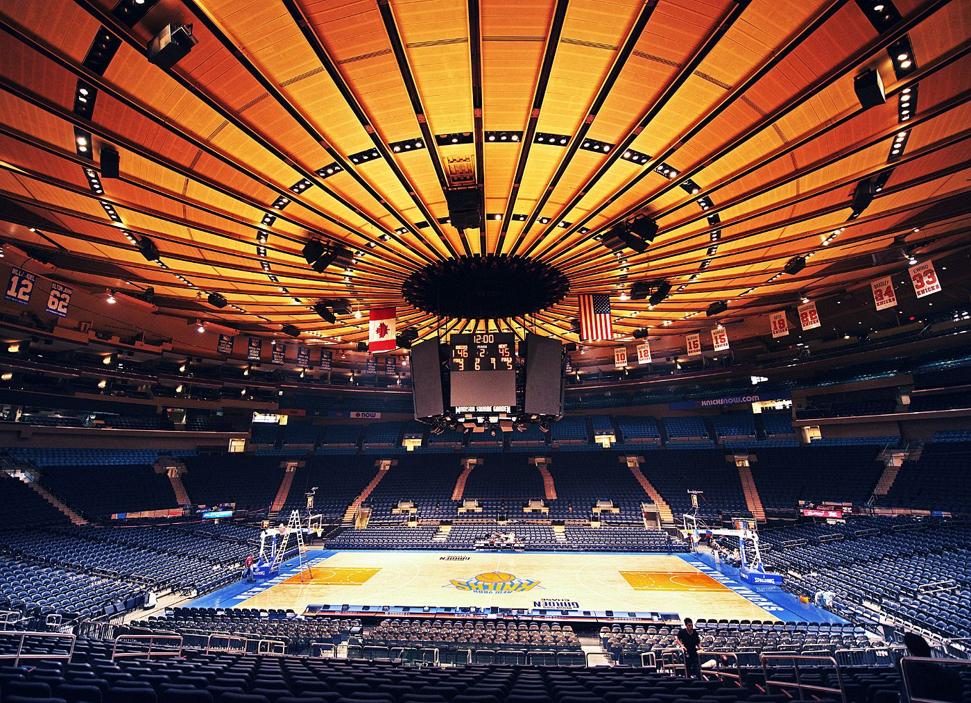 Madison Square Garden Home Of The New York Knicks New York