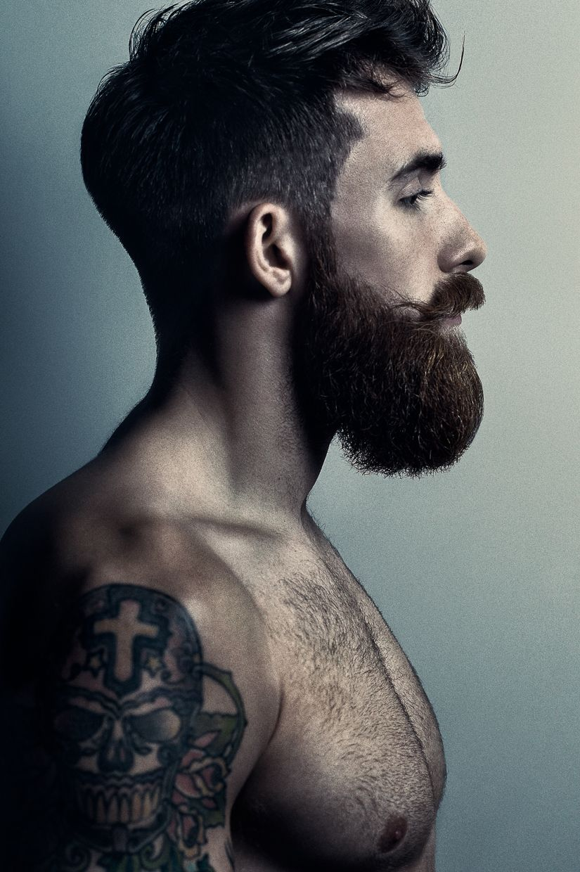 Trendy men haircuts tristan harper  love the male facial hair  pinterest  beard game