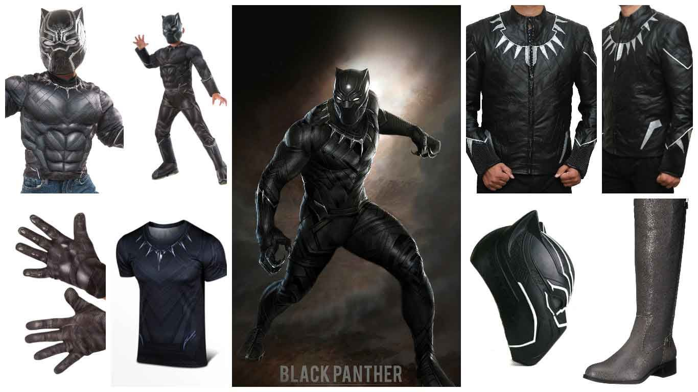 5 Steps To Dress Like Marvel Black Panther Costume Guide Hedford Blog Black Panther Marvel Black Panther Costume Black Panther