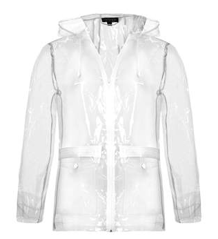 Friday Five Getting Ready For April Showers White Cabana Raincoat Raincoats For Women Raincoat Jacket