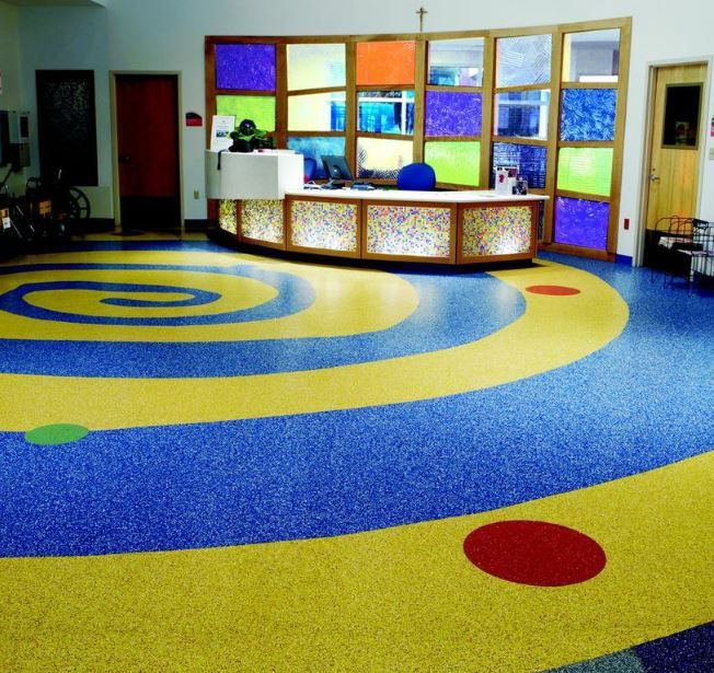 Ecosurfaces St Vincent Continental Flooring Company Flooring Contractor Commercial Flooring Flooring