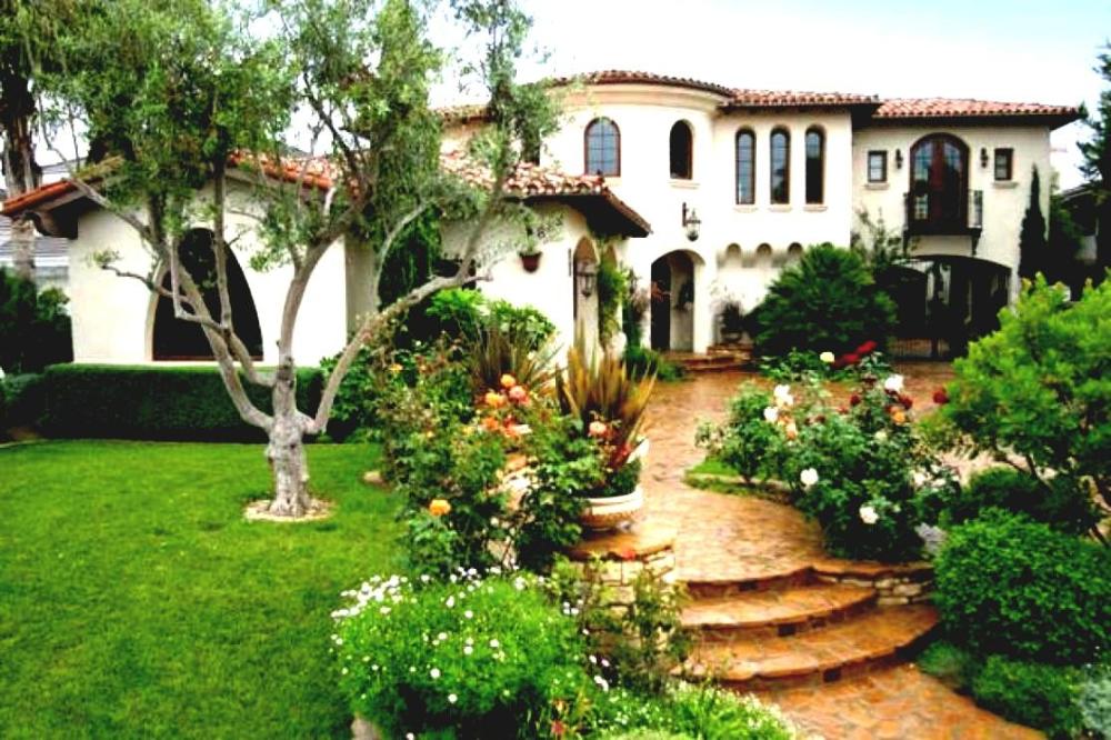 Hacienda Spanish Style Patio Backyard Frontyard Garden ...