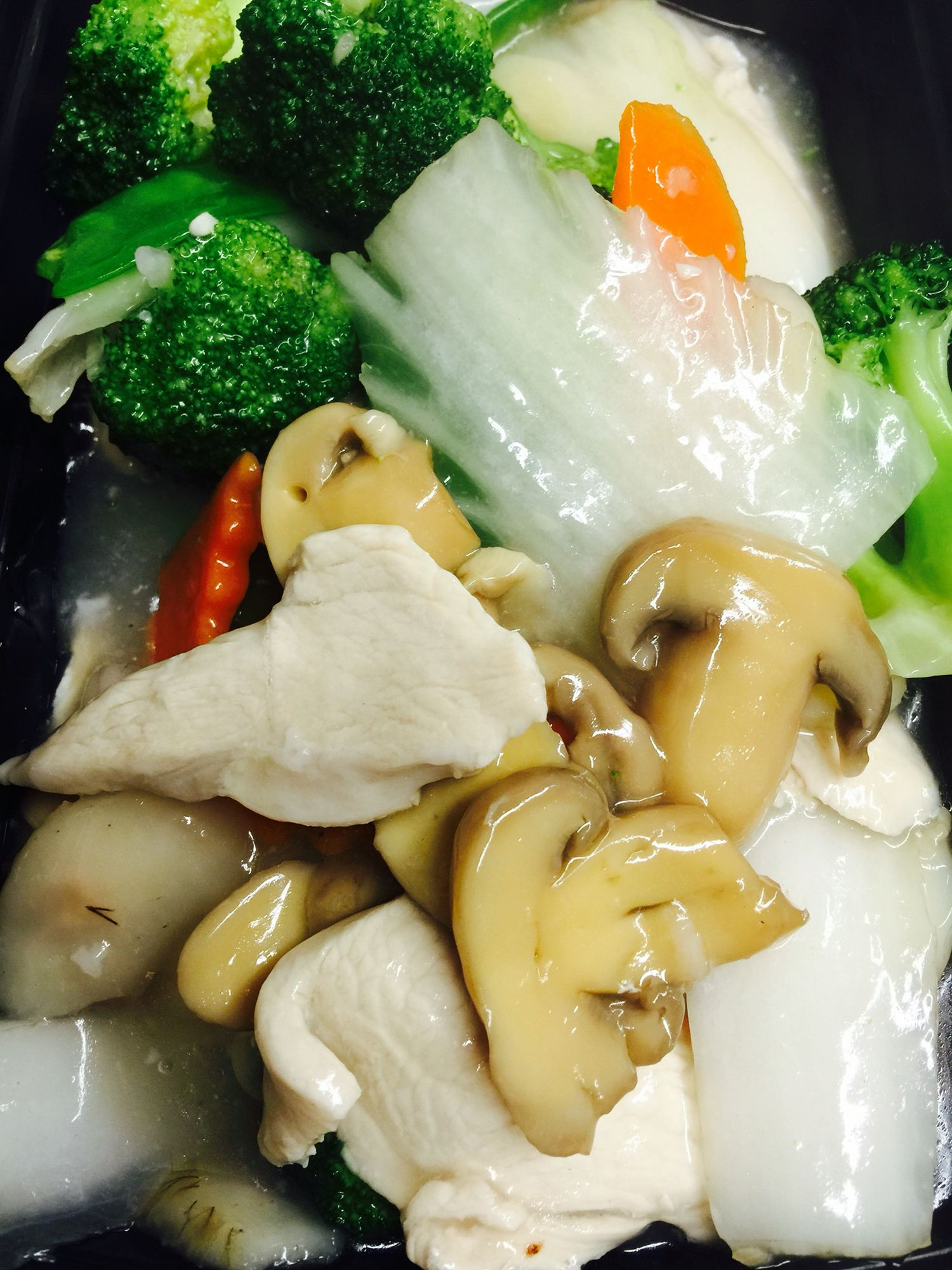 Китайский гриб диета