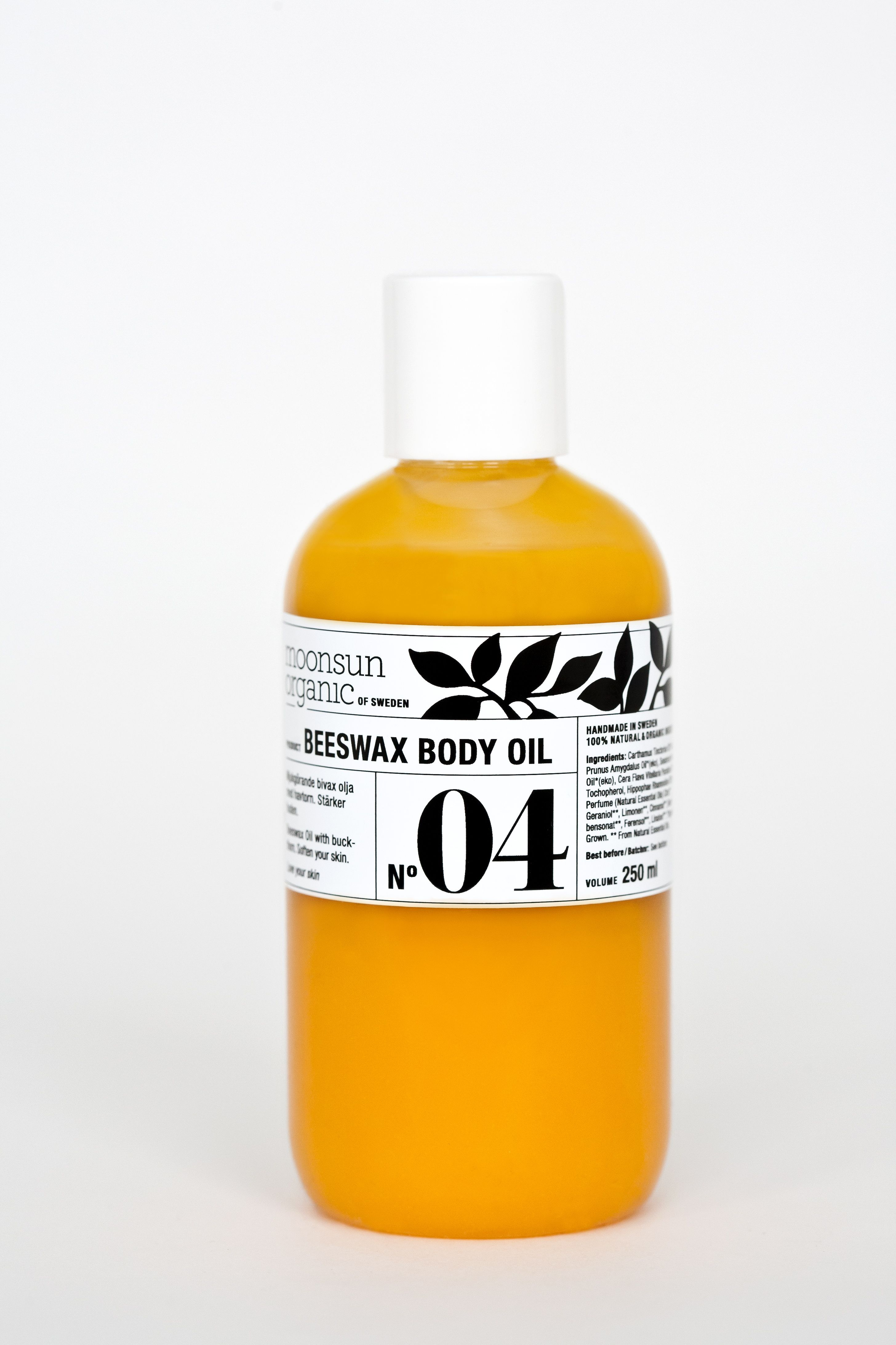 beeswax body oil