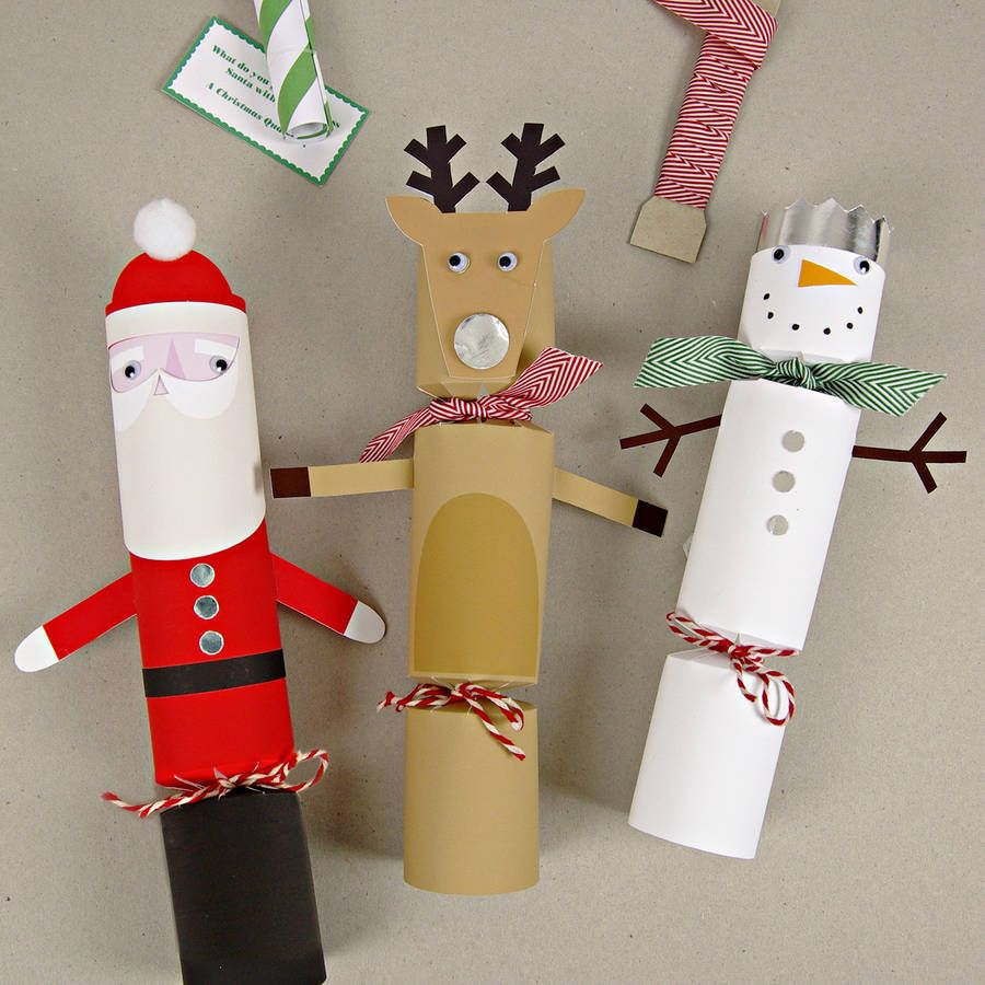 Make Your Own Christmas Crackers | Xmas 2015 | Pinterest