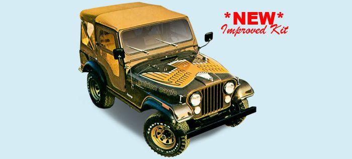 1977 80 Hood Bird For Golden Eagle Amc Jeep Cj 5 And Cj 7 Jeep