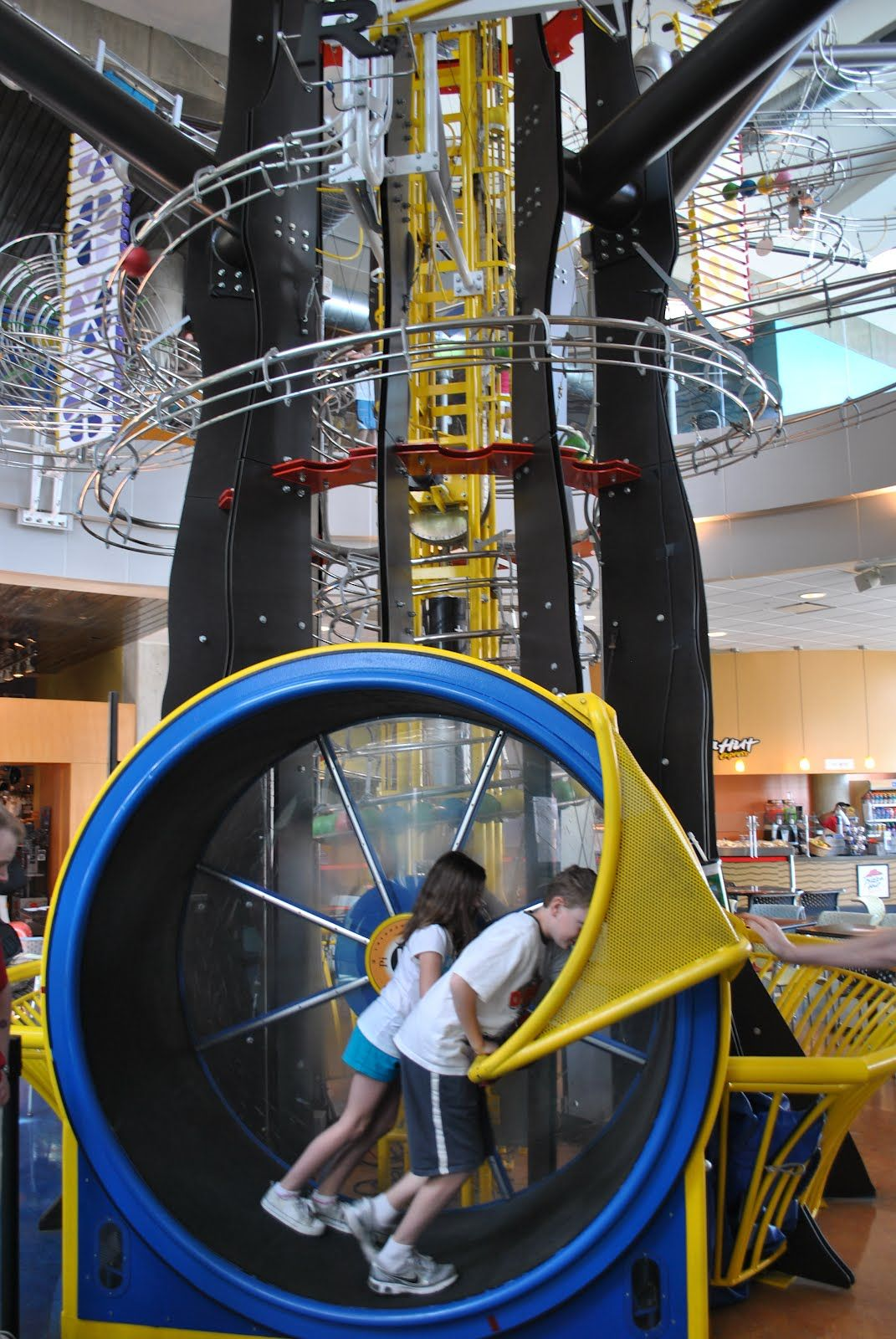 The Science Center is another great stop  within Forest Park. This Free mostly museum has many interactive exhibits. It also features many paid exhibits if you choose. FYI the IMAX is not Free, but you knew that.