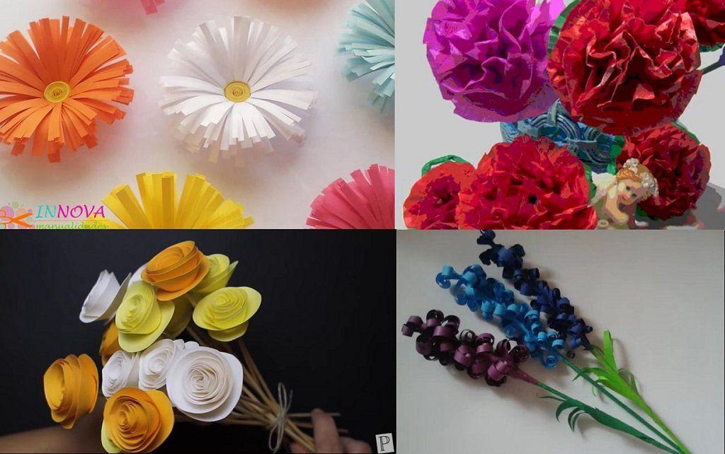 Las flores de papel m s bonitas para decorar tu hogar for Consejos para decorar tu hogar