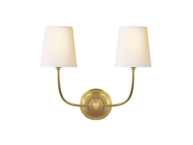 High Street Market 3rd Floor Lighting Selectionsvisual Comfort Vendome Double Wall Sconce