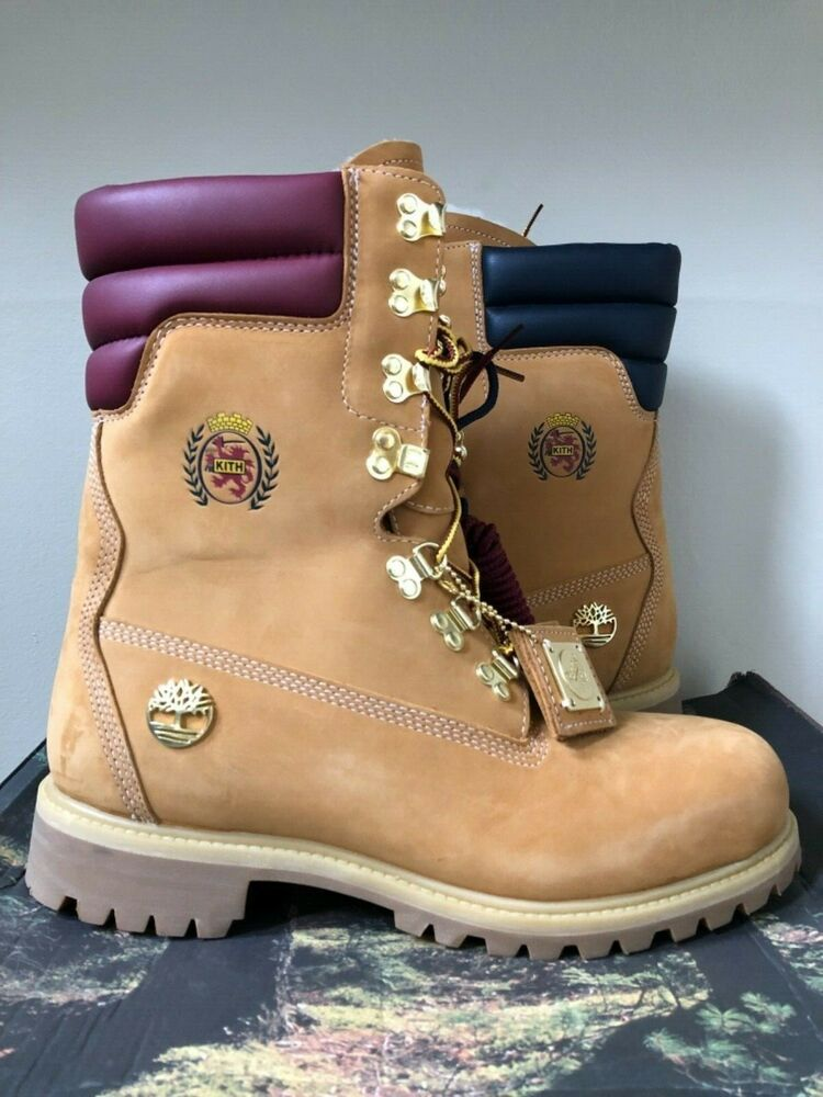 810480f8cef eBay #Sponsored KITH x Tommy Hilfiger x Timberland Shearling 40 ...