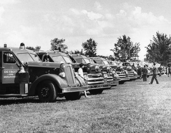 Sprinkler Used Cars >> (26096) Riots, Rebellion, Arson, Detroit Fire Department ...
