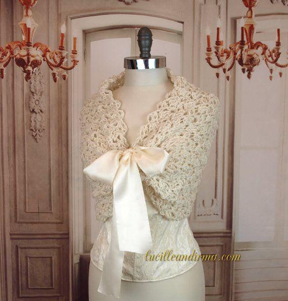 Ivory Bridal Shawl Wedding Shaw Winter Wedding Bridesmaids Shawl ...