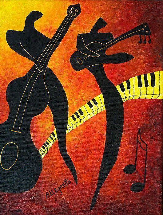 Los músicos, en la concepción de Allegretto.