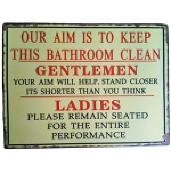 Kitchen Sink Etiquette: Man Cave Bathroom, Man Caves