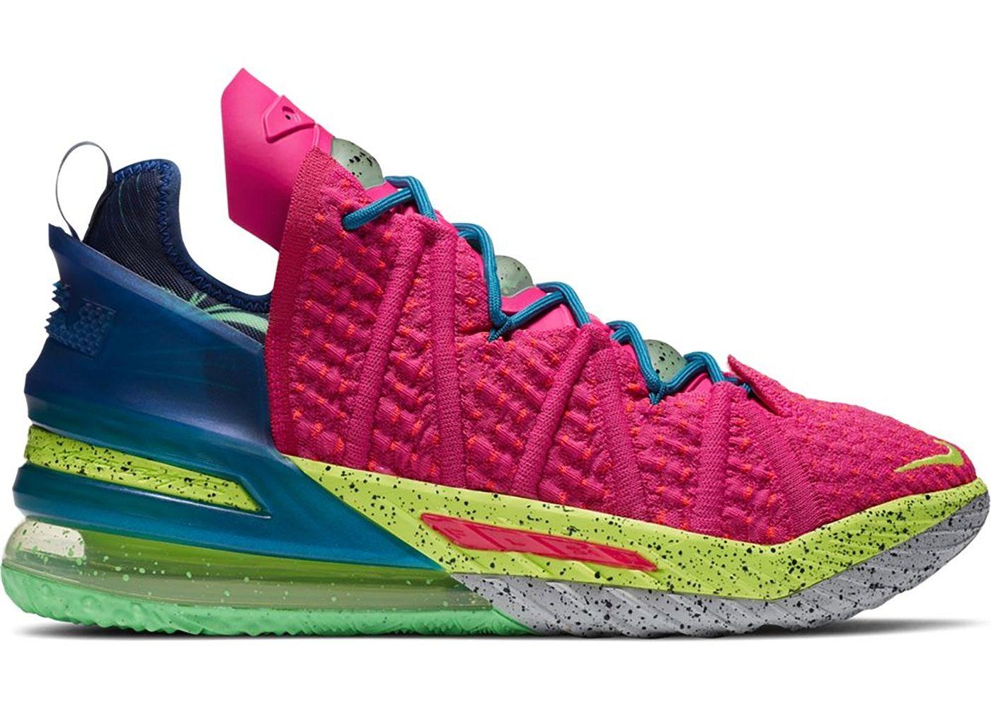 Nike Lebron 18 Los Angeles By Night In 2021 Nike Lebron Nike Lebron