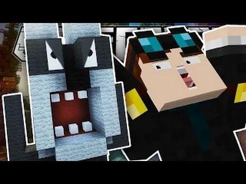 DanTDM Minecraft Minecraft I BUILT A CUTE WEREWOLF!! Build