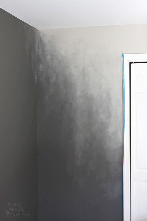 How To Paint An Ombre Wall Technique Pretty Handy Girl Ombre