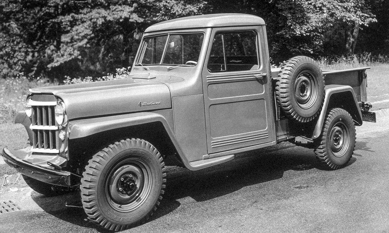 Jeep A Brief History Willys Overland Truck 1947 1965 Part 2