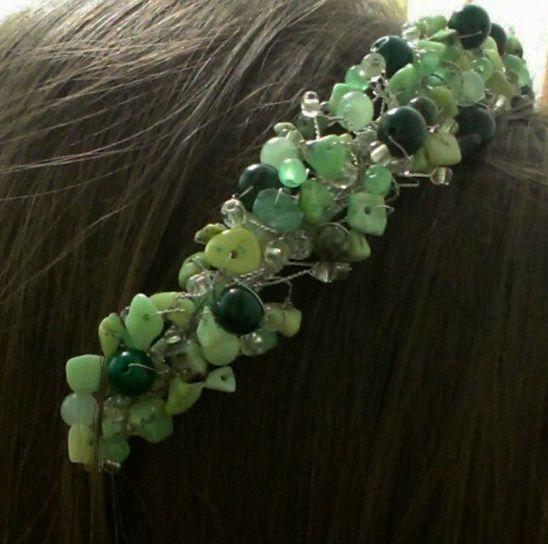 украшение в волосы весенний ветерок #украшениядляволос #тиара #корона #ободок #обруч #королева #аксессуары #подарок #любимой #счастье #красота #мода #tiara_ua