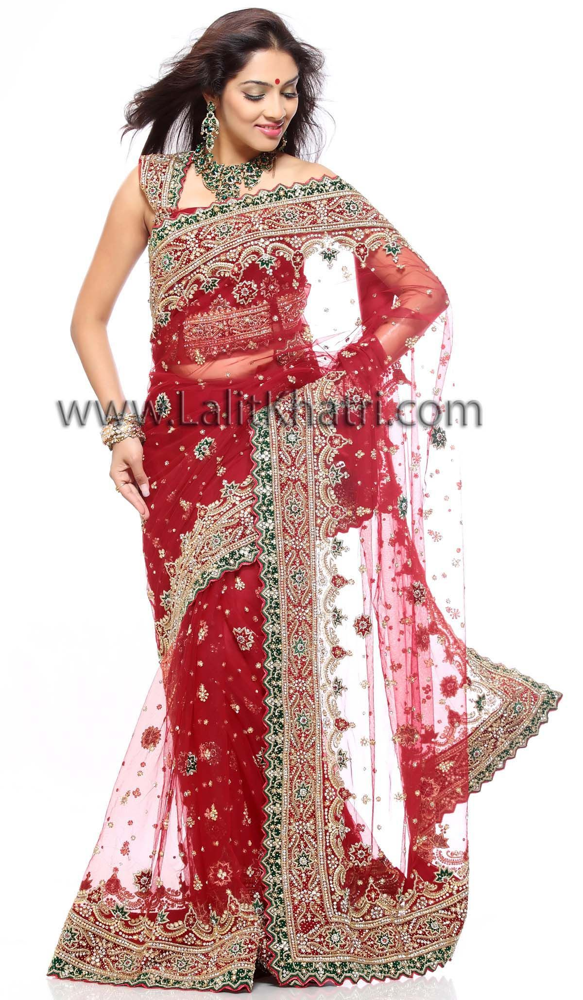 28c7ba6733020b Heavy work Saree
