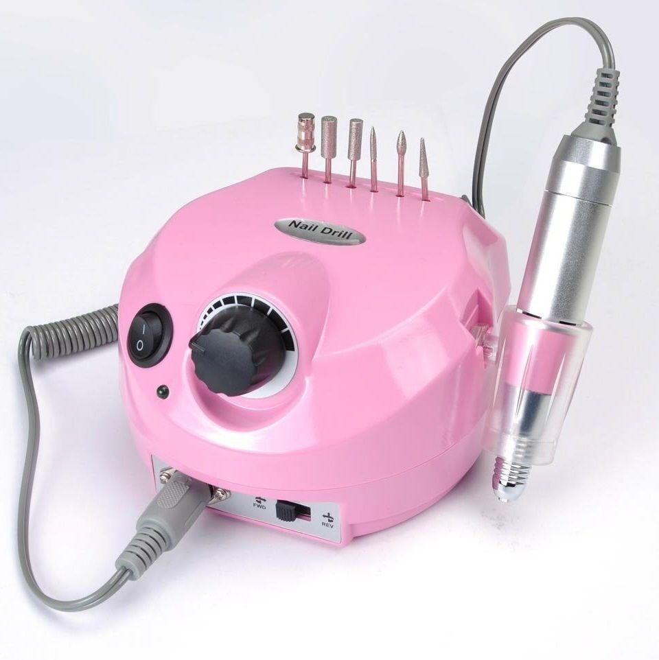 Professional Electric Nail File Manicure Drill Acrylic Sand Machine ...