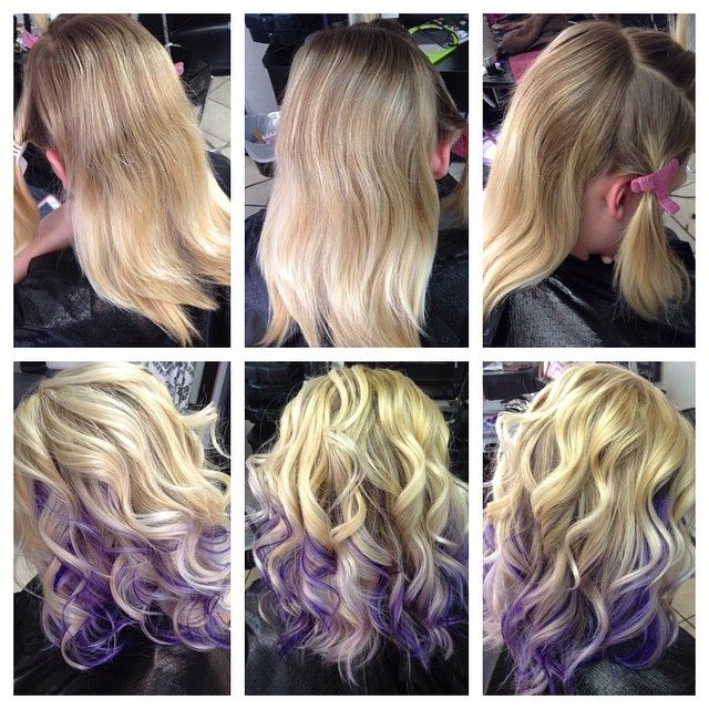 Mulpix Hairbytonie Haircut Hair Purple Violet Peekaboos Lavender Cute Curls Blonde Platinum Love Exquisitebeau Purple Hair Blonde Hair Color Hair